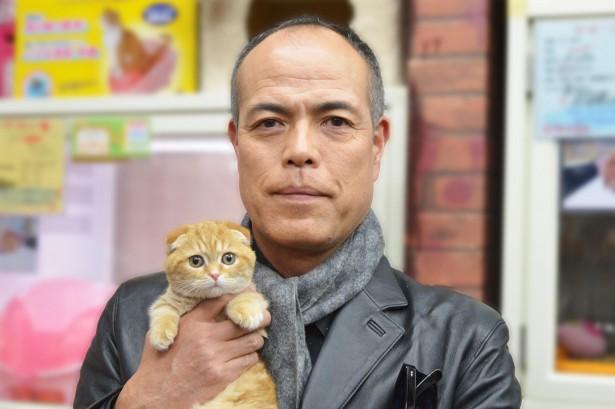 猫とコワモテ田中要次